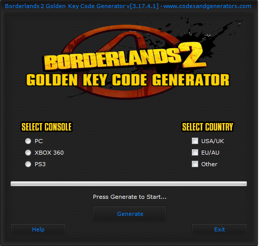 gold key codes