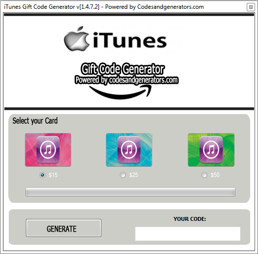 iTunes gift card generator, itunes gift card codes, free itunes gift card, free itunes gift card codes